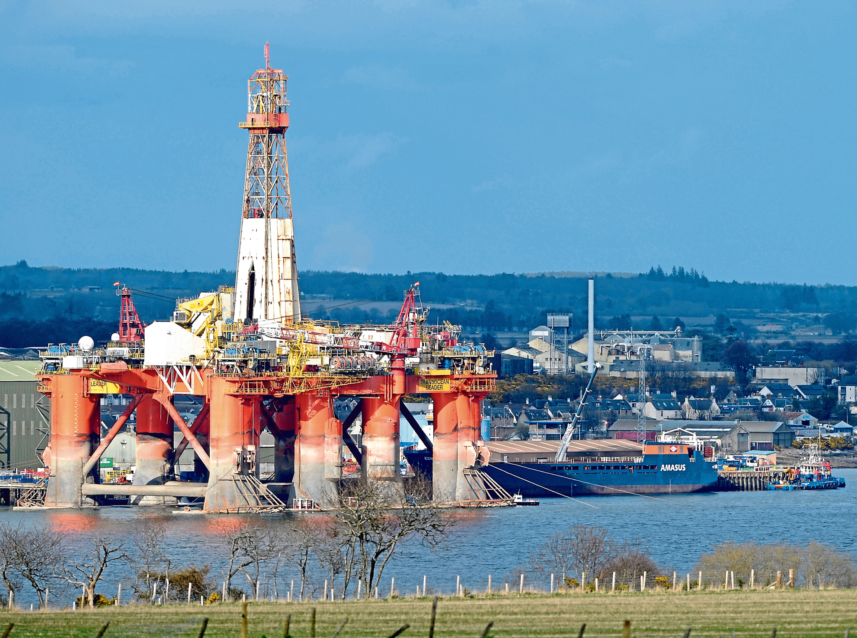 The Port of Cromarty Firth. Picture by Sandy McCook