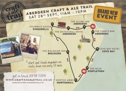 Craft and Ale route