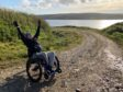 Brynn Hauxwell from Shetland is fundraising for a wheelchair to get him out and about more.