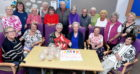 "The ""Young at Heart"" group, who meet at Portlethen Community Centre celebratrated its 30th birthday. Picture by Chris Sumner"