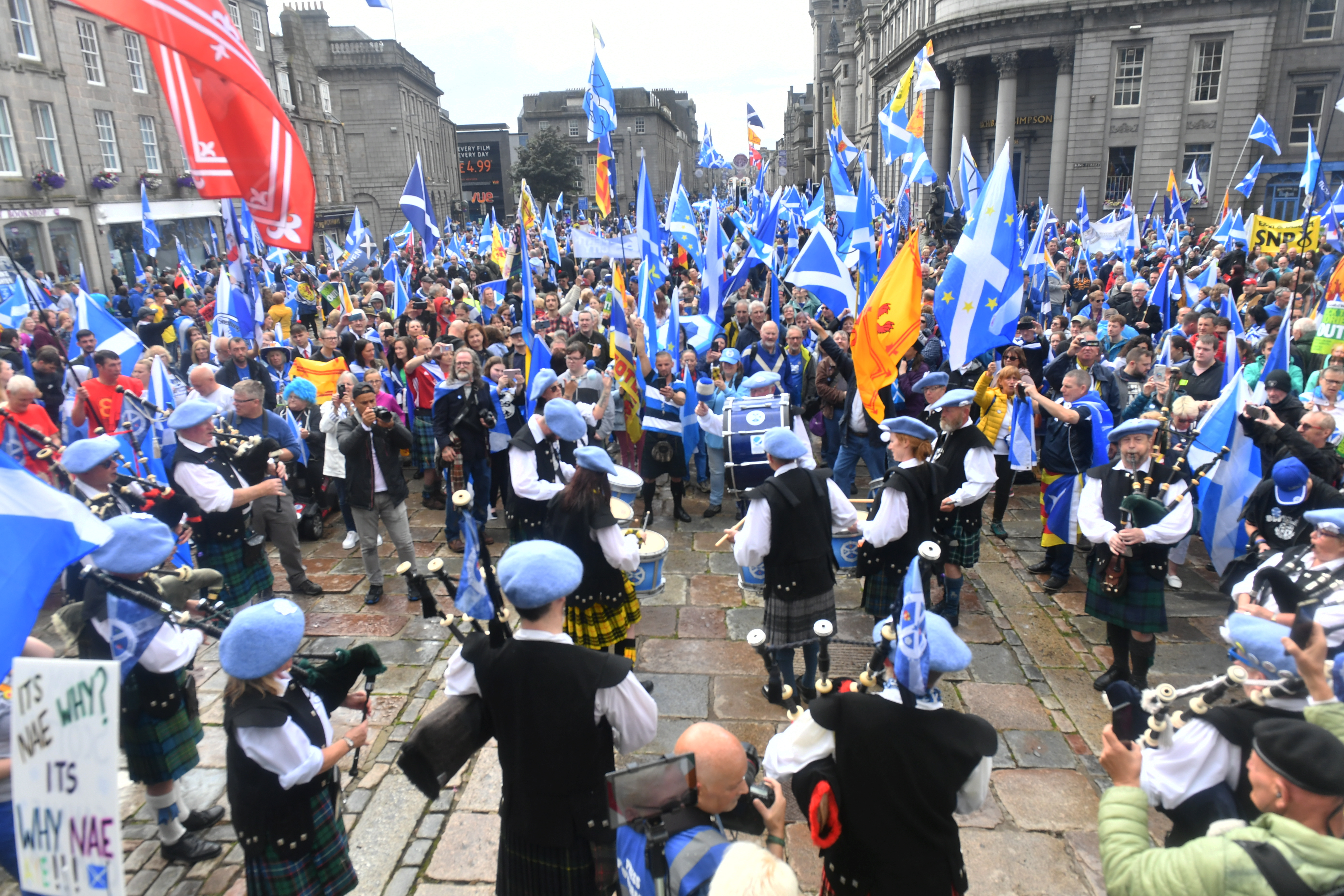 AUOB march in Aberdeen this year