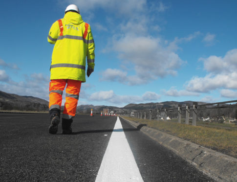 Road works to create a smoother road surface are planned for September 9 for ten days.