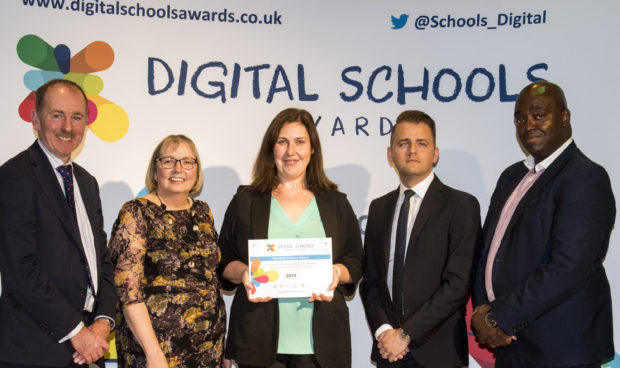 Banchory Primary at the Digital Schools Awards
