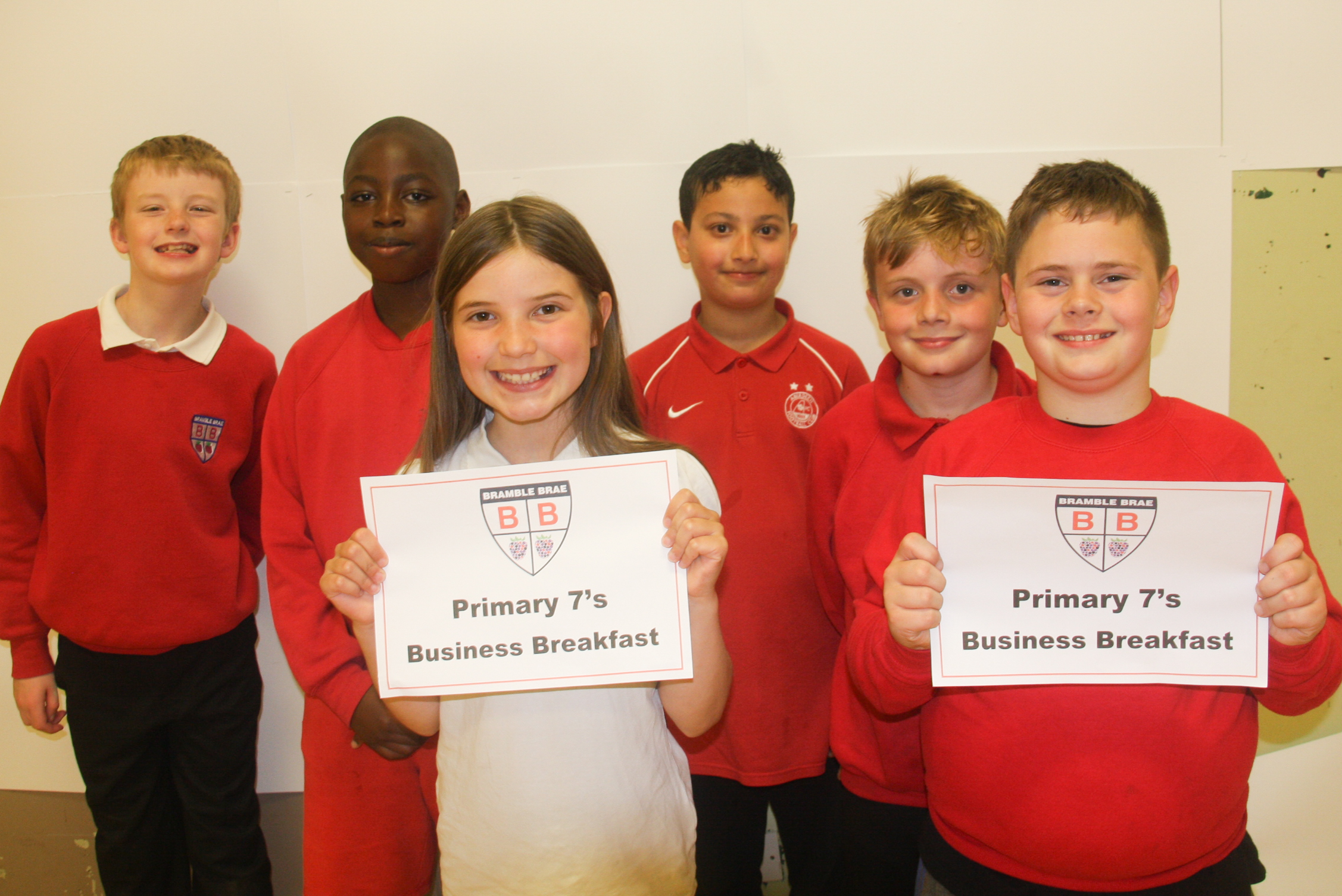 Bramble Brae Primary School pupils