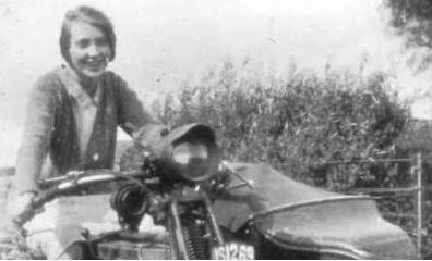 Donald Trumps mother Mary Anne MacLeod in Tong in 1930s