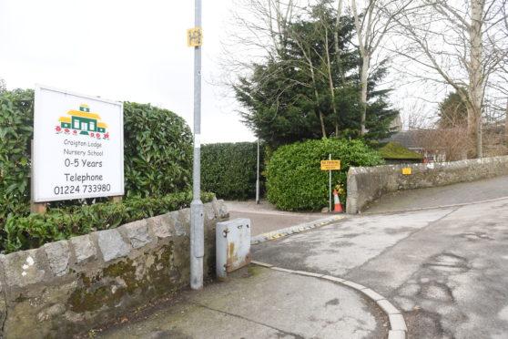 Craigton Lodge Nursery School in Peterculter.