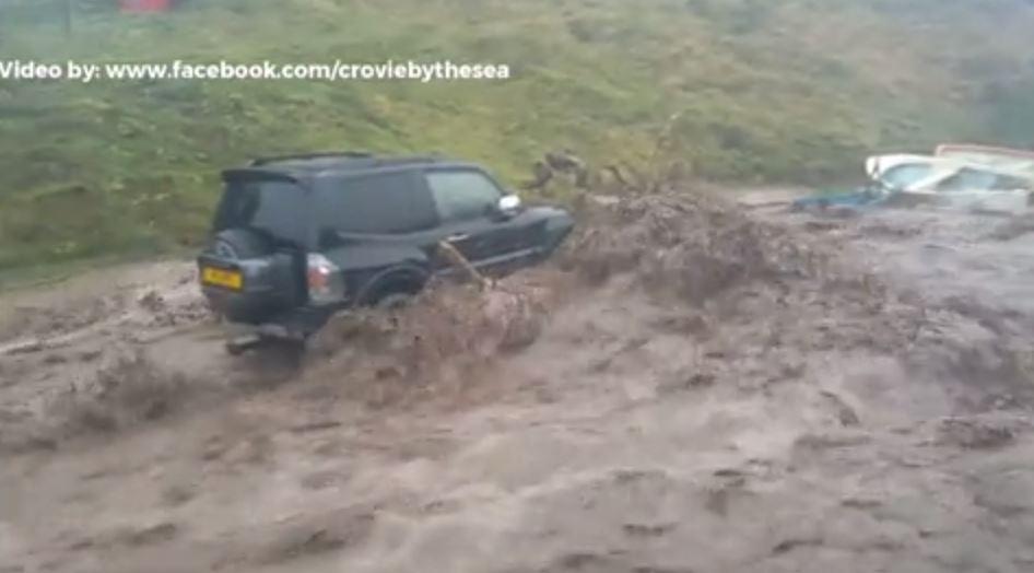 Screengrab from video by www.facebook.com/croviebythesea