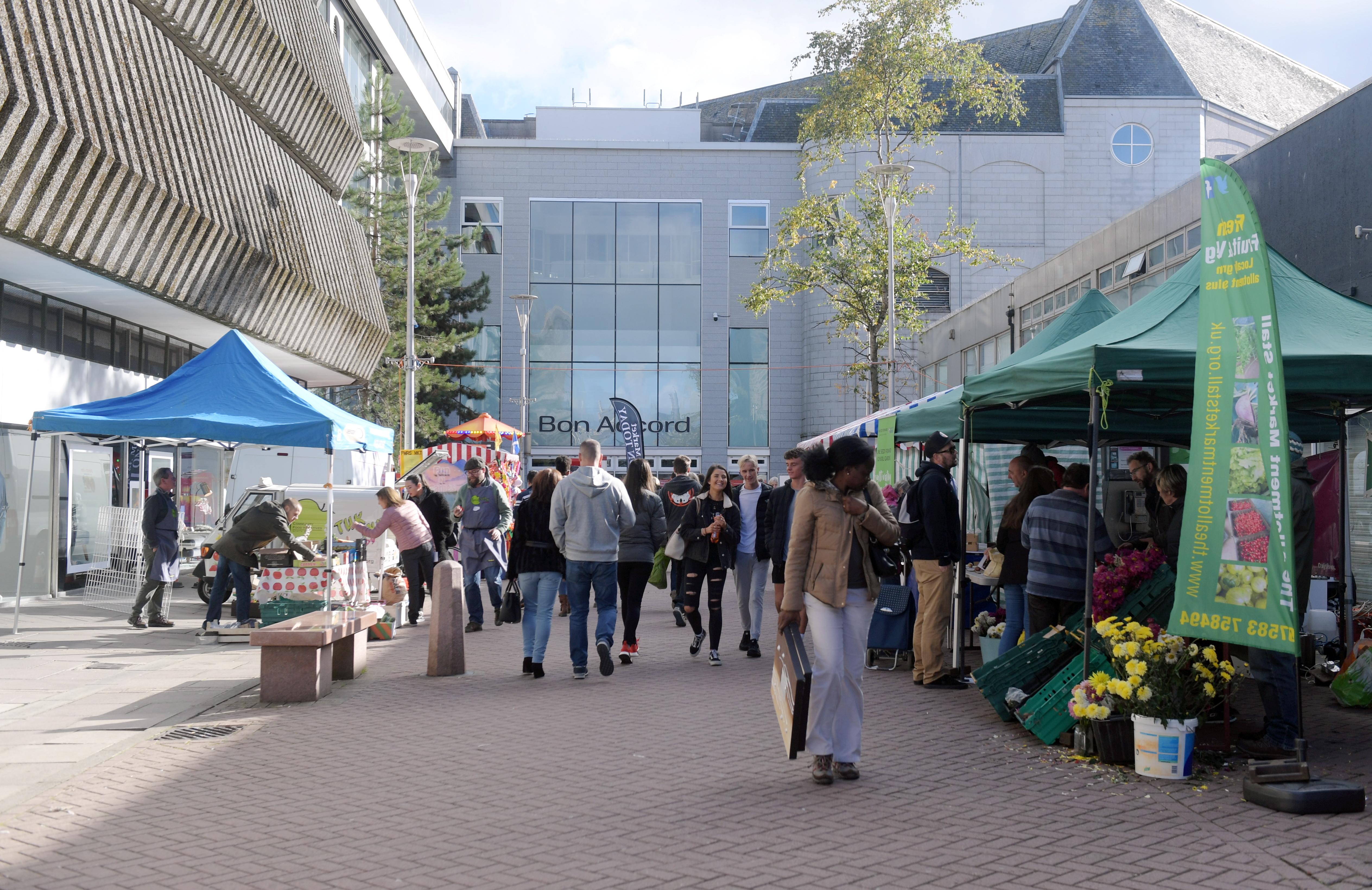 George Street market in 2018