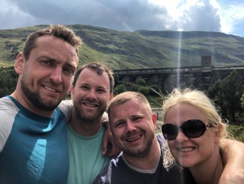 The three Inverness men have been preparing for the mammoth trek by taking on Munro's - completing an impressive 18 in just two months