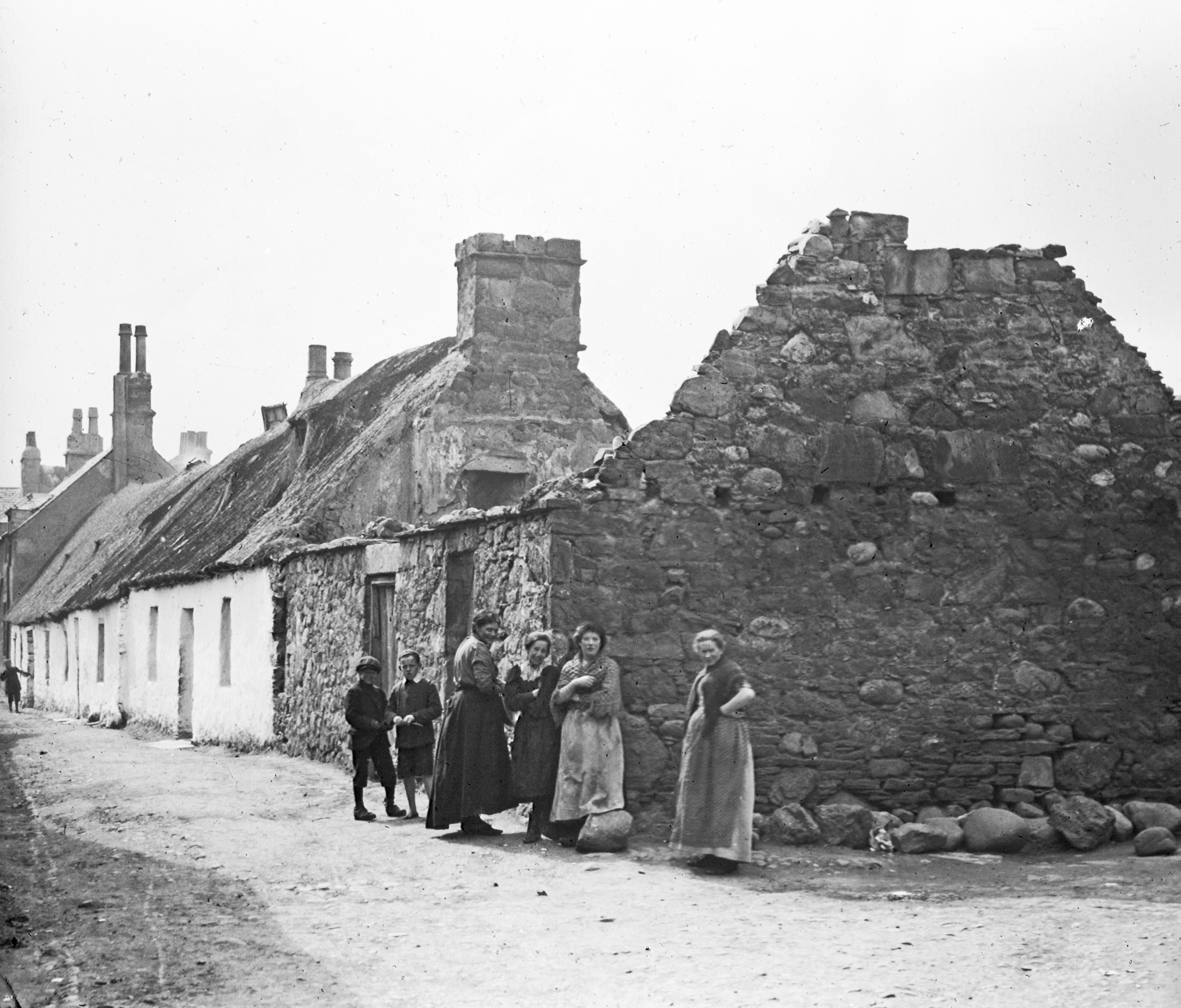 Poverty was rife when the famine struck Inverness in 1846-47. Pic:  Moray Council/Elgin Library