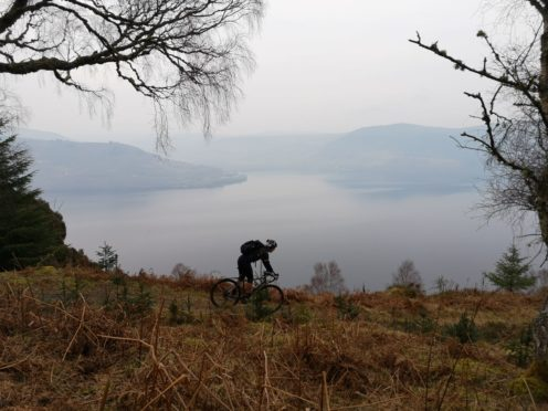 Visit Inverness Loch Ness launch three day challenge event.