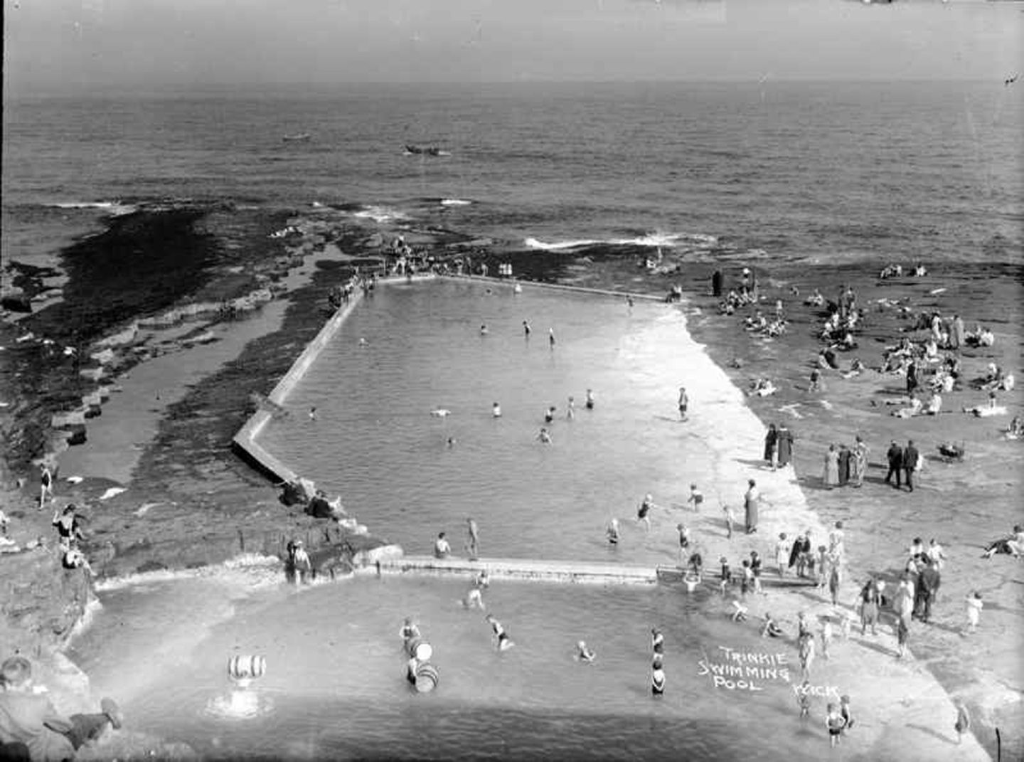The Trinkie pool in Wick. Courtesy of The Johnston Collection.