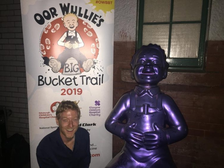 Oor Wullie with James Biffy