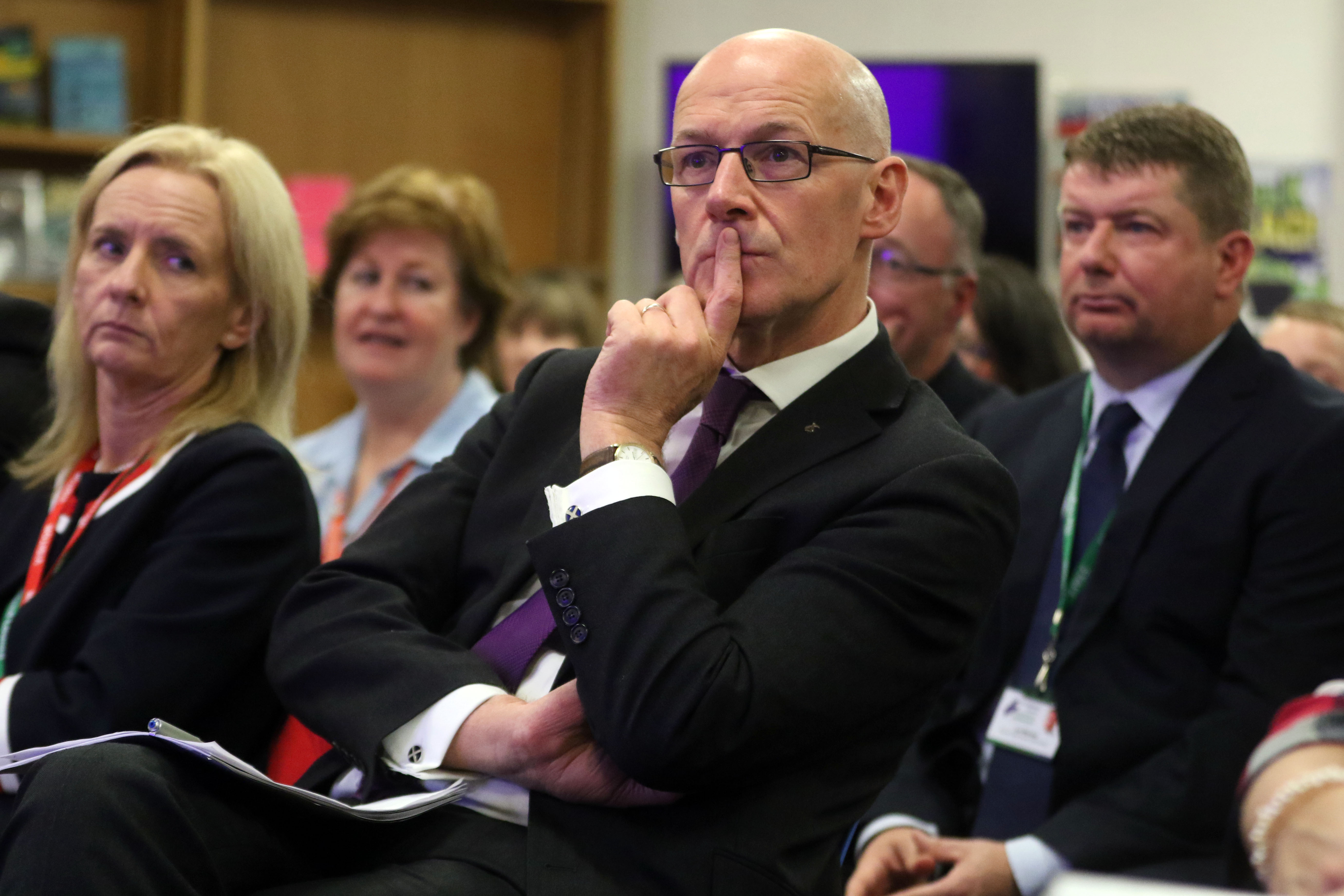 """Deputy First Minister John Swinney delivered hope to campaigners for a new 3-18 facility for Tain yesterday, recognising the """"urgency and the necessity for improvements to the school."""""""