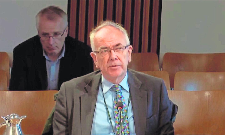 Professor Boyd Robertson, chairman of NHS Highland.