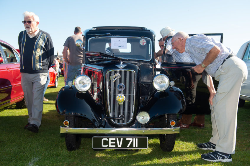 This Austin Seven attracted lots of attention.  Pictures by JASON HEDGES