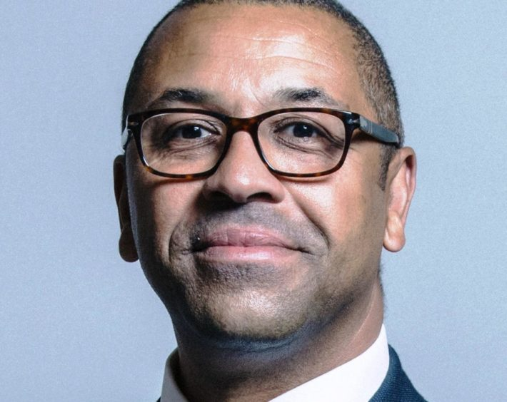Tory chairman James Cleverly