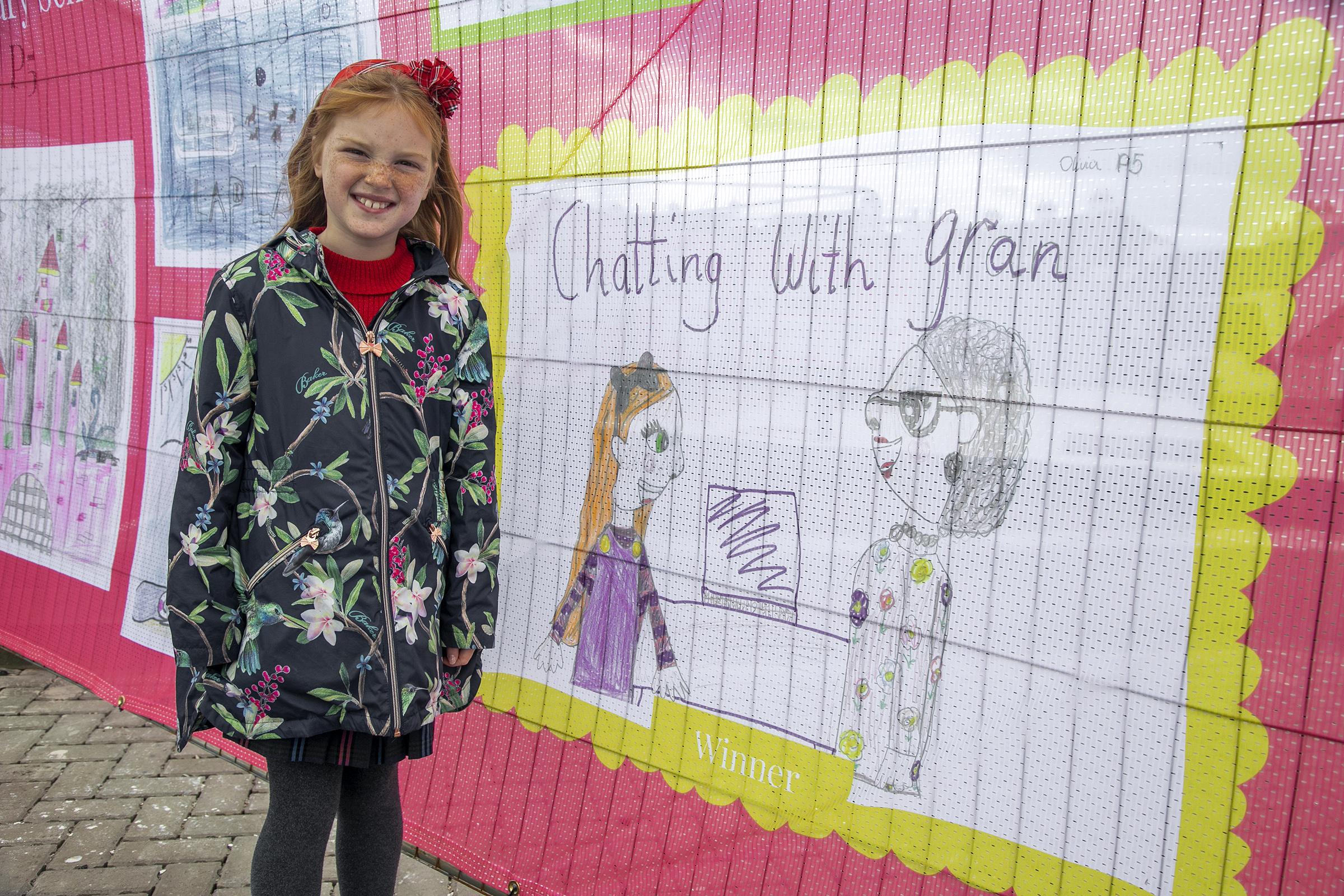 Newtonhill pupil Olivia Duffy