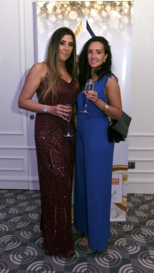 Pictured from left, Jennifer Hunter and Gemma Bruce.  Picture by HEATHER FOWLIE