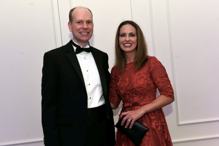Pictured from left, Mike and Carrie Thompson.  Picture by HEATHER FOWLIE