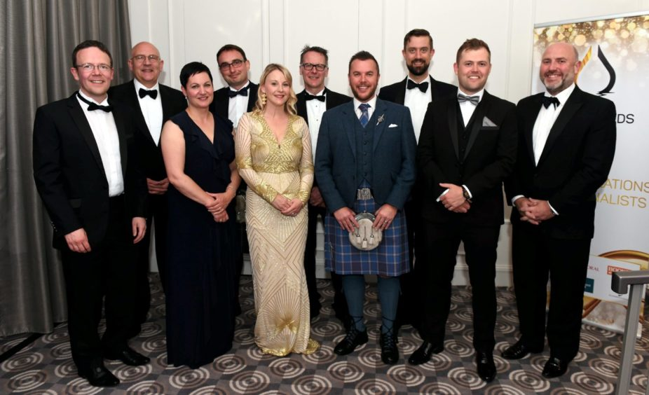 Table 21-Scottish Enterprise.  Picture by HEATHER FOWLIE