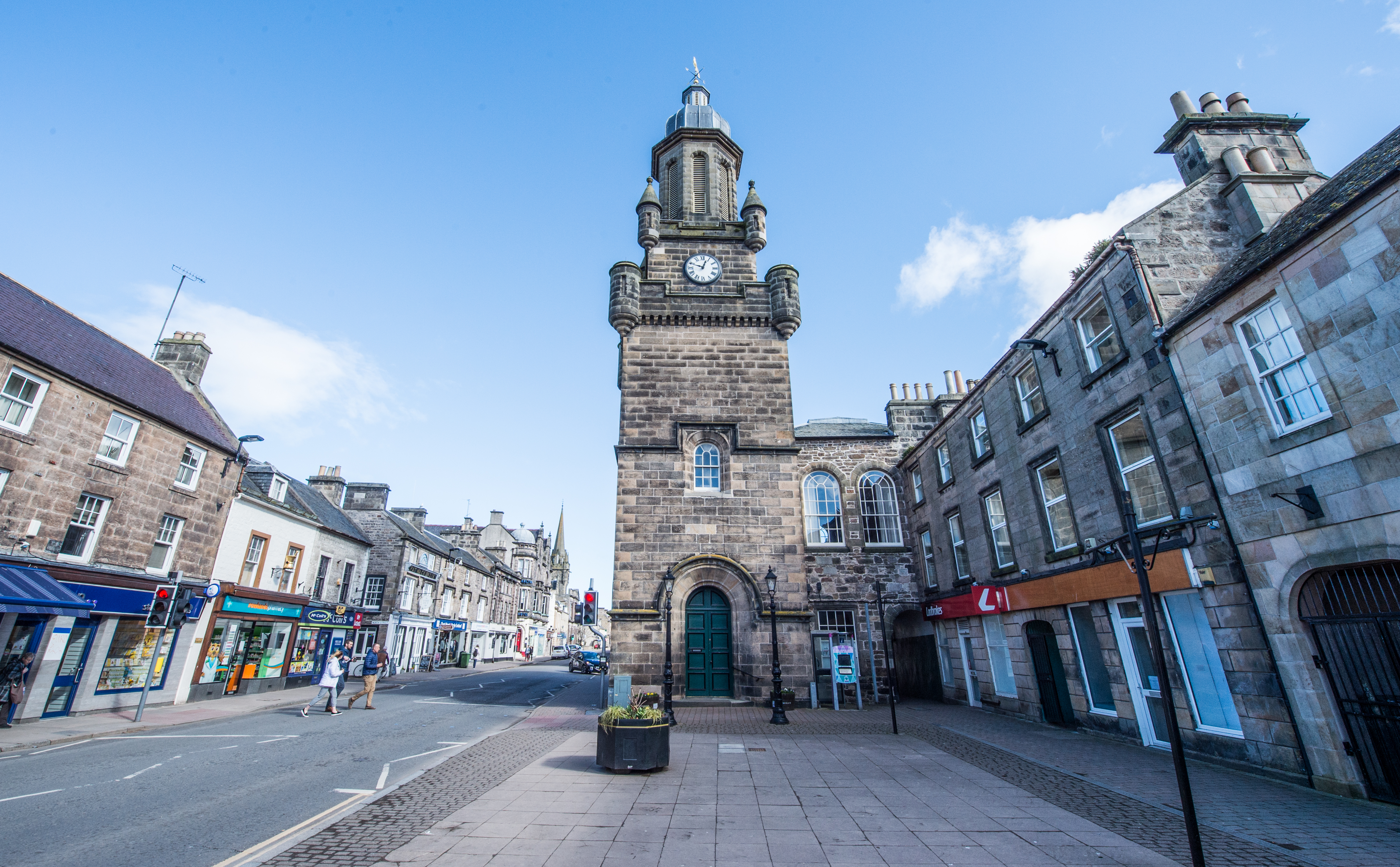 Plans for unused laundry buildings to be transformed into accommodation in Forres has been submitted.