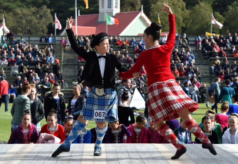Highland Dancing.  Picture by KENNY ELRICK