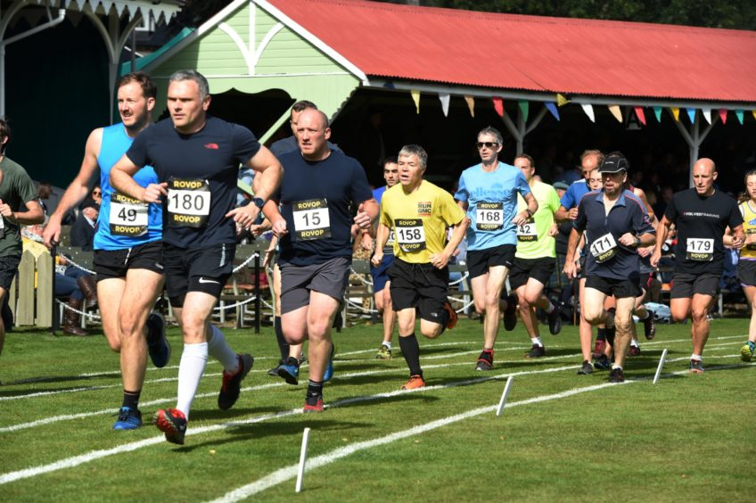 The Hill Race.  Picture by KENNY ELRICK