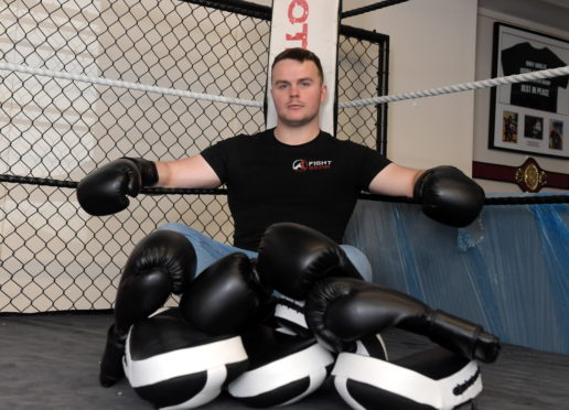 A1 Fight Gear owner Sean Cowie. Picture by KATH FLANNERY