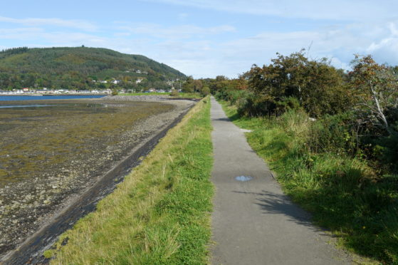 The Merkinch Nature Reserve in Inverness.