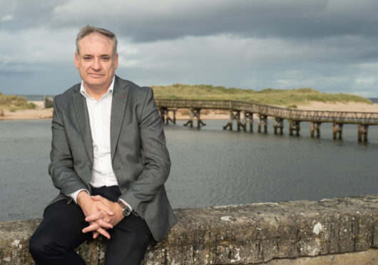 Moray MSP Richard Lochhead. Picture by Jason Hedges.