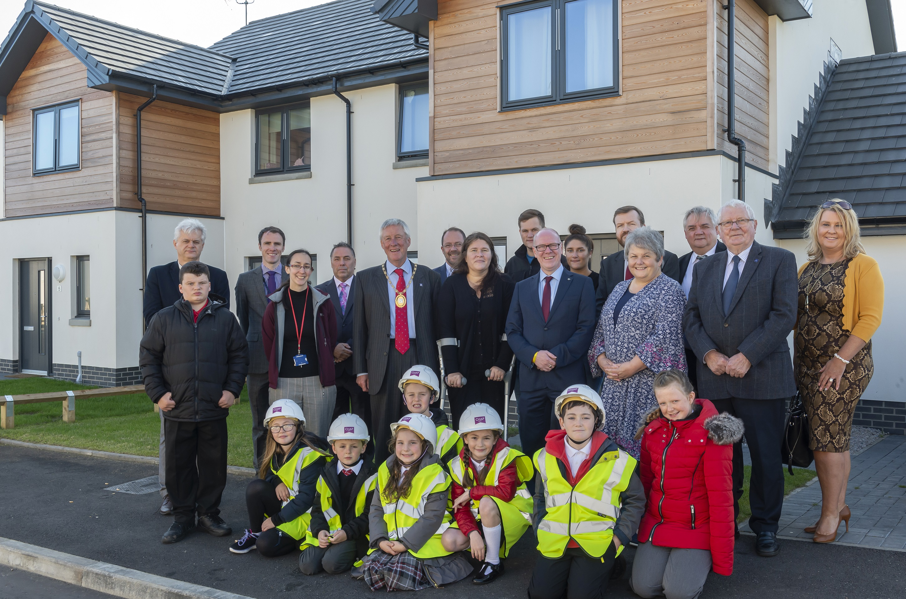 The opening of the new development in Peterhead