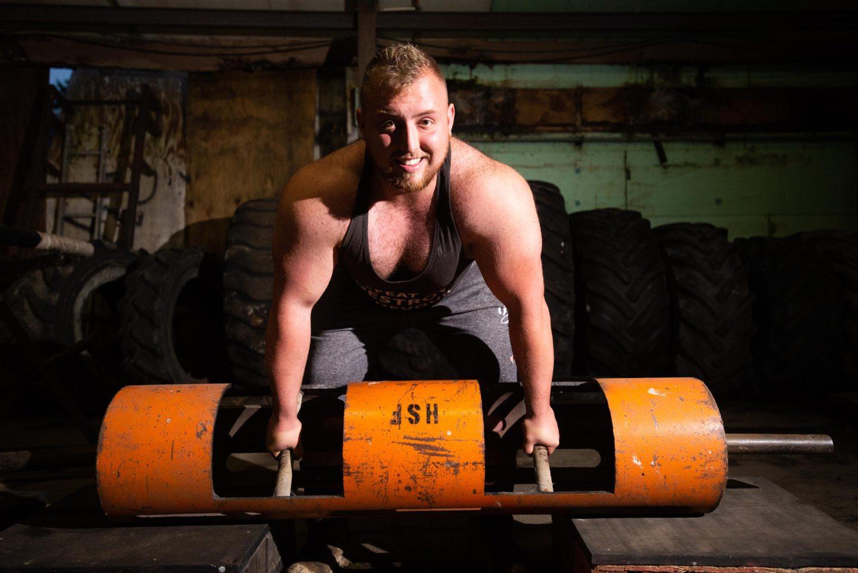 Strongman Ronald Young