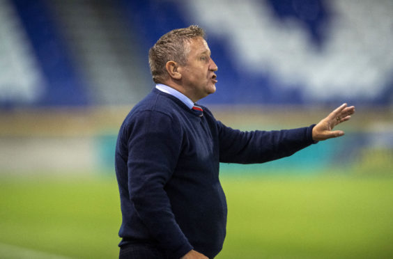 John Robertson has operated with a reduced budget since the club's relegation two years ago.