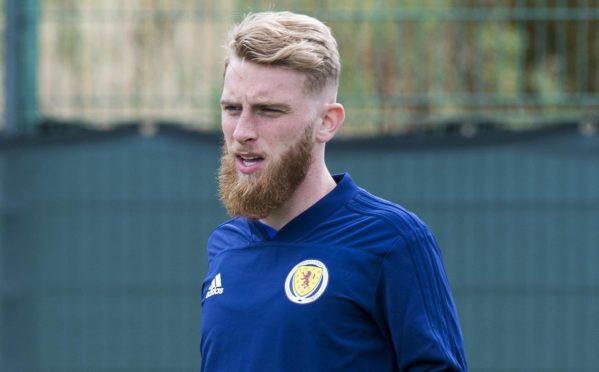 Scotland striker Oli McBurnie.