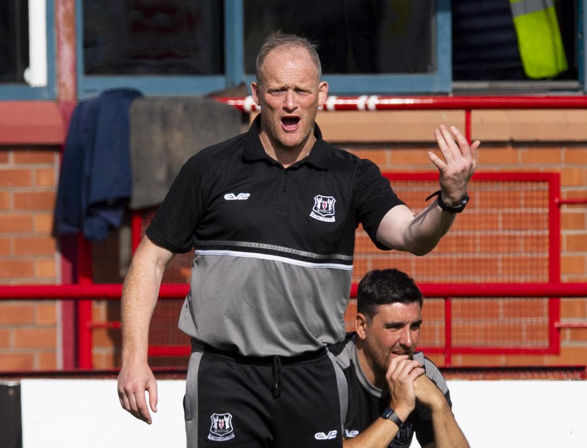 Elgin City boss Gavin Price.