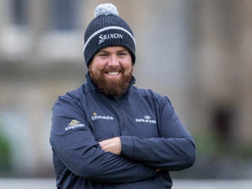 Shane Lowry during Dunhill Links at St Andrews.