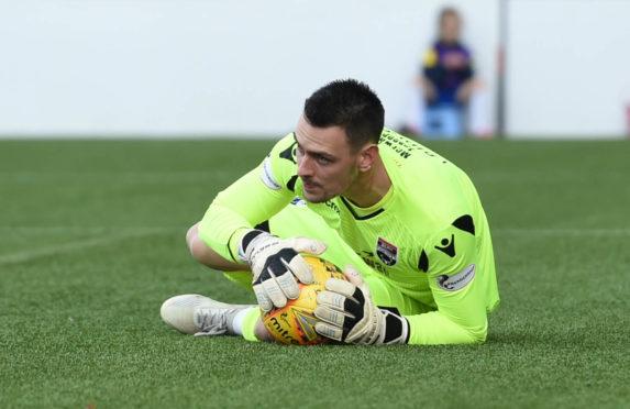 Laidlaw started the season as first-choice goalkeeper.