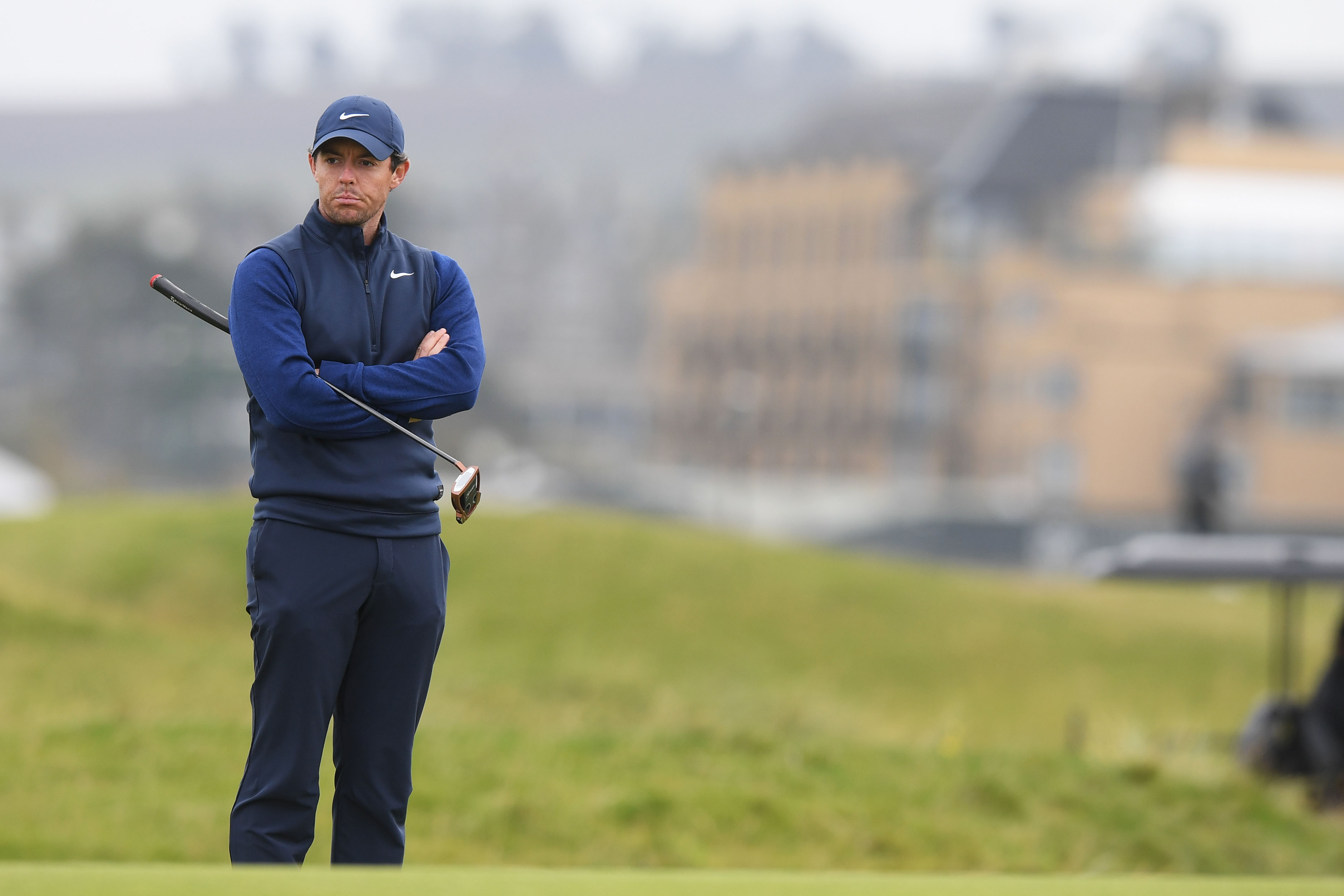 Rory McIlroy during the fourth day of the Alfred Dunhill Links Championship at St Andrews. (Photo by Ross Parker / SNS Group).