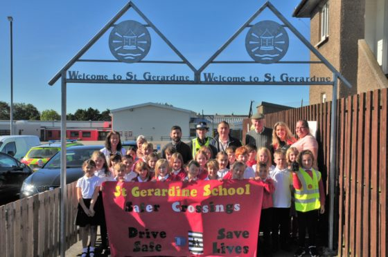Pupils at St Gerardine Primary School in Lossiemouth will educate speeding drivers.