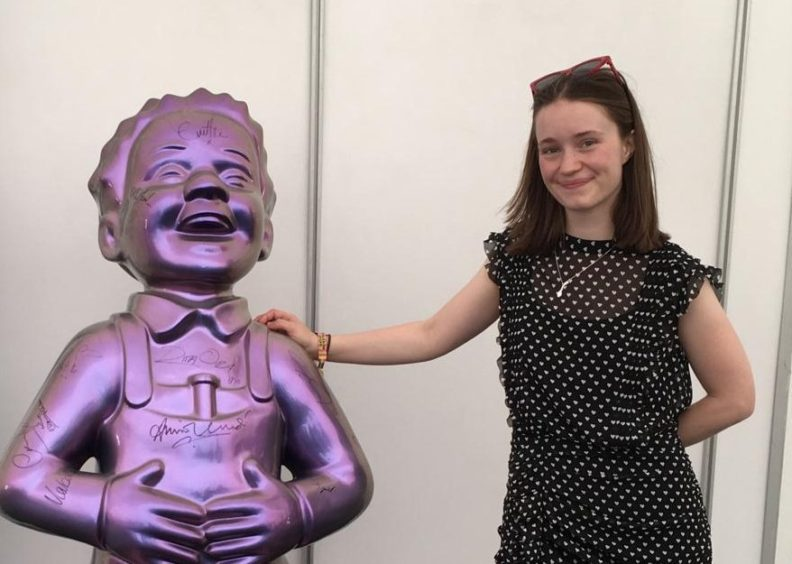 Oor Wullie with Sigrid