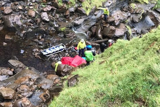 The rescue on Skye