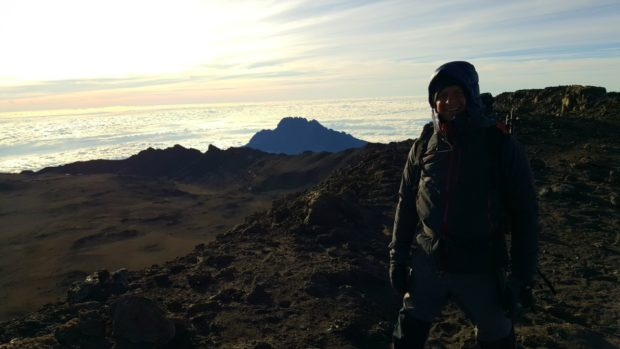 Tim at the summit
