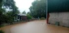 Images of the sanctuary on Saturday as the water level rose