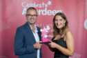 Young Supporter of the Year, Emily Findlay and Jim Wright from Altus Intervention