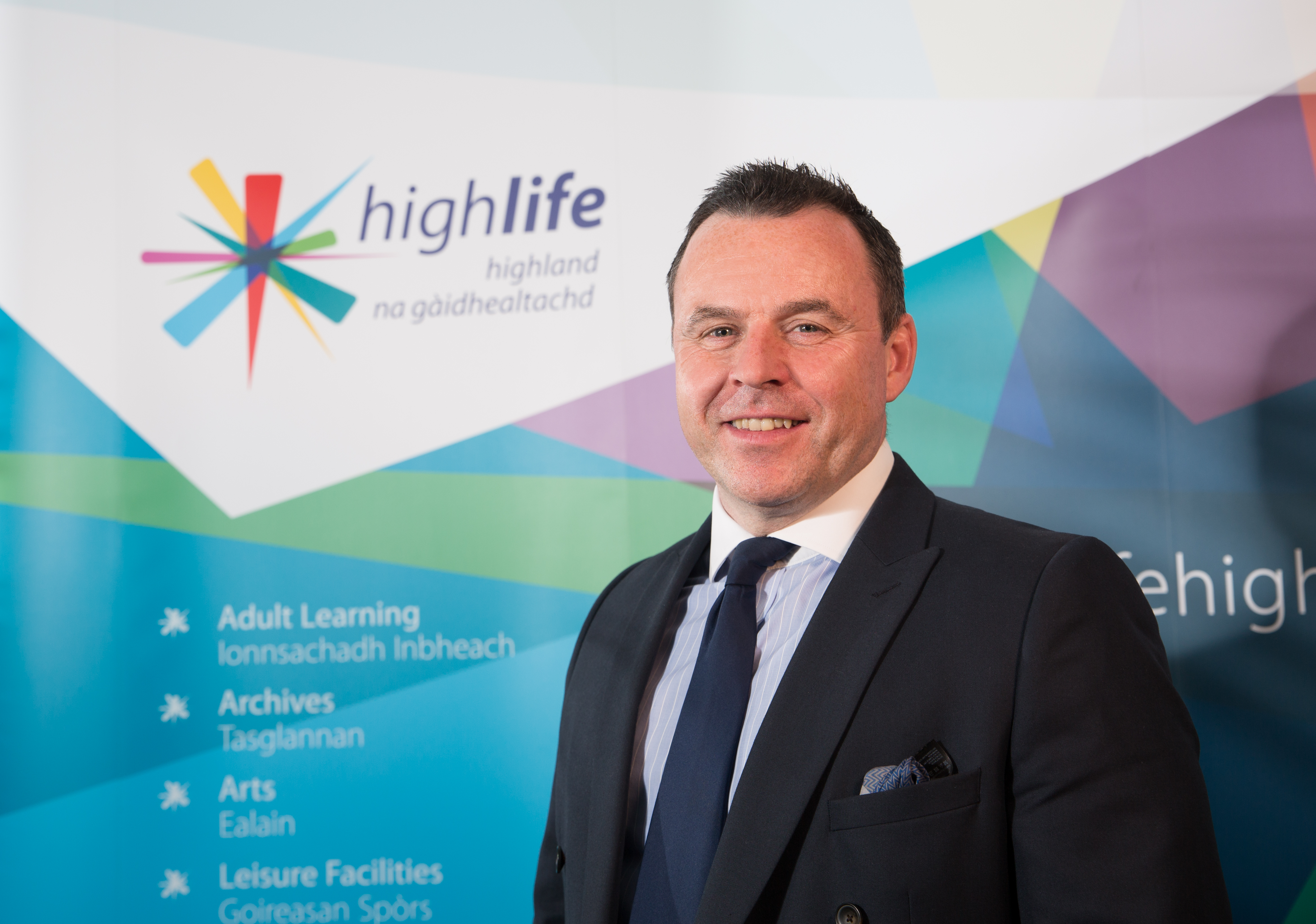 Steve Walsh, has been appointed as High Life Highland's new chief executive