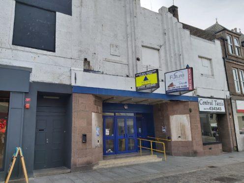 The former bingo hall on Peterhead's Marischal Street