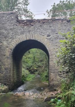 Auchmill Bridge near King Edward - picture by Cameron Anderson