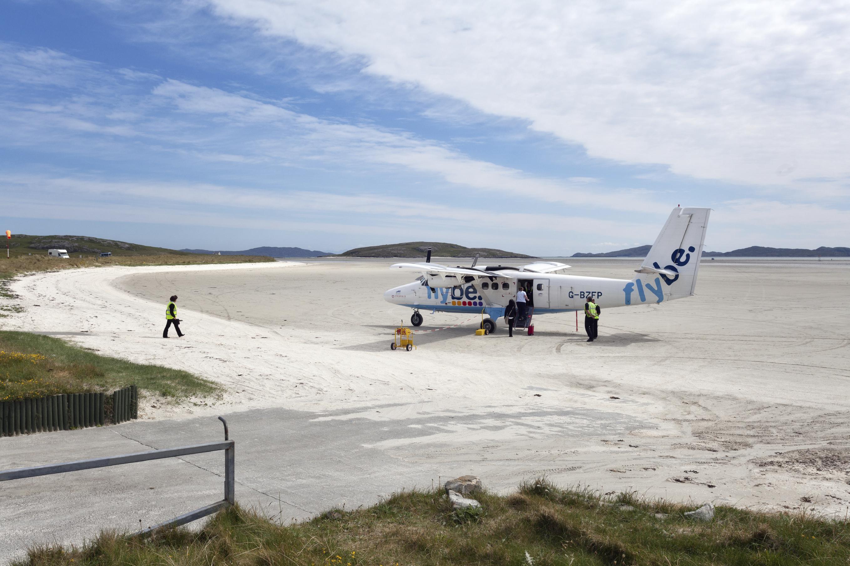 The runway on Barra.