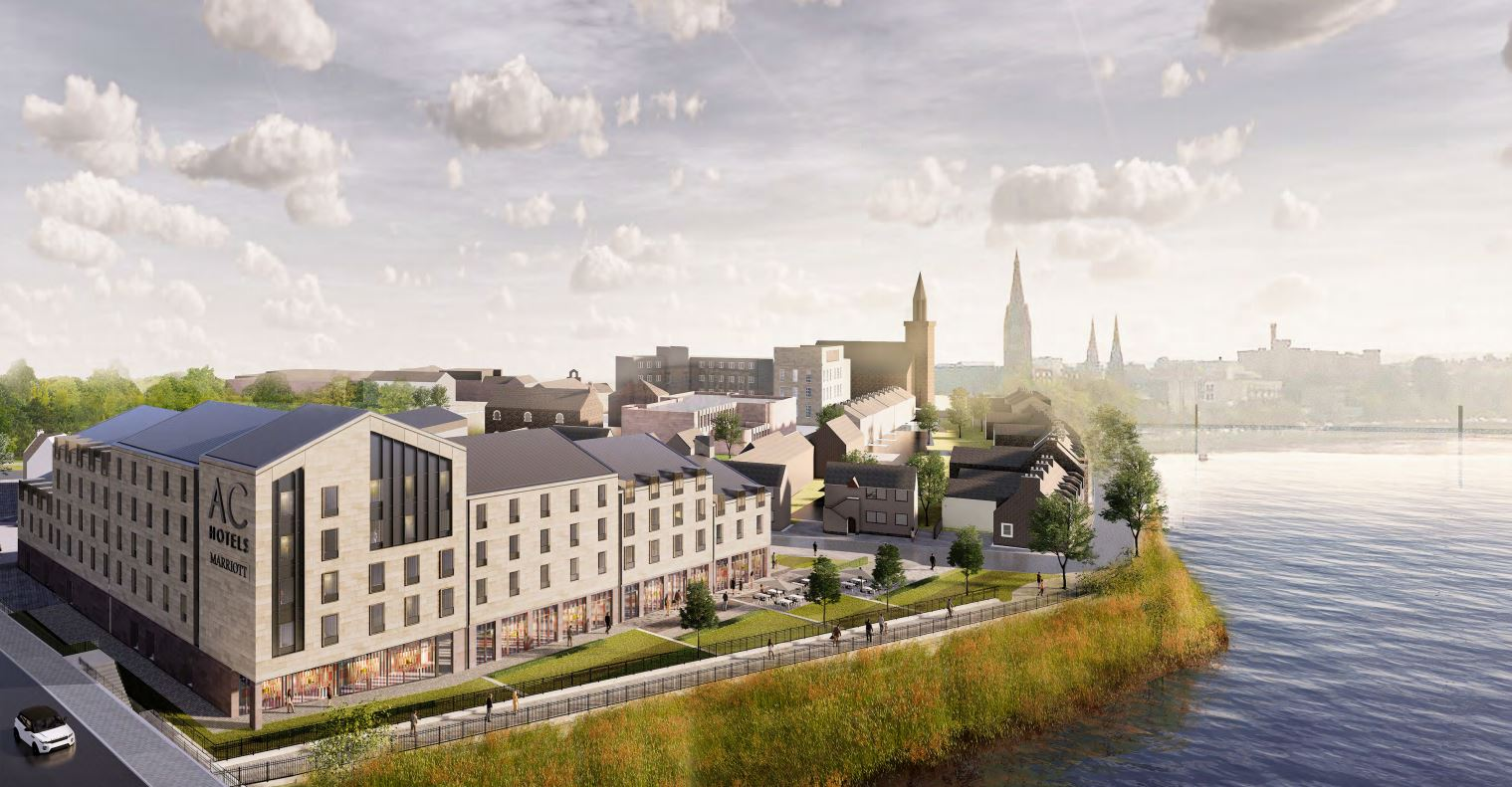 The new design for the hotel on Glebe Street in Inverness